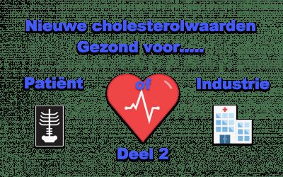 Nieuwe cholesterolwaarden gezond voor patiënt of industrie? – deel 2