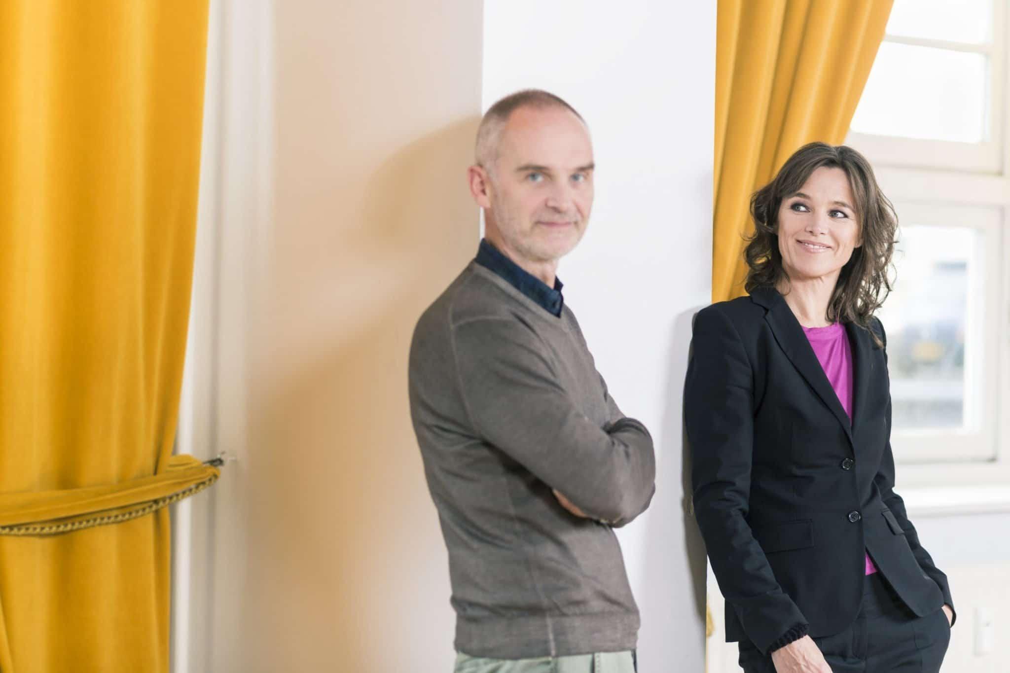 Pascalle Neassens en Hanno Pijl samen op de voorgrond
