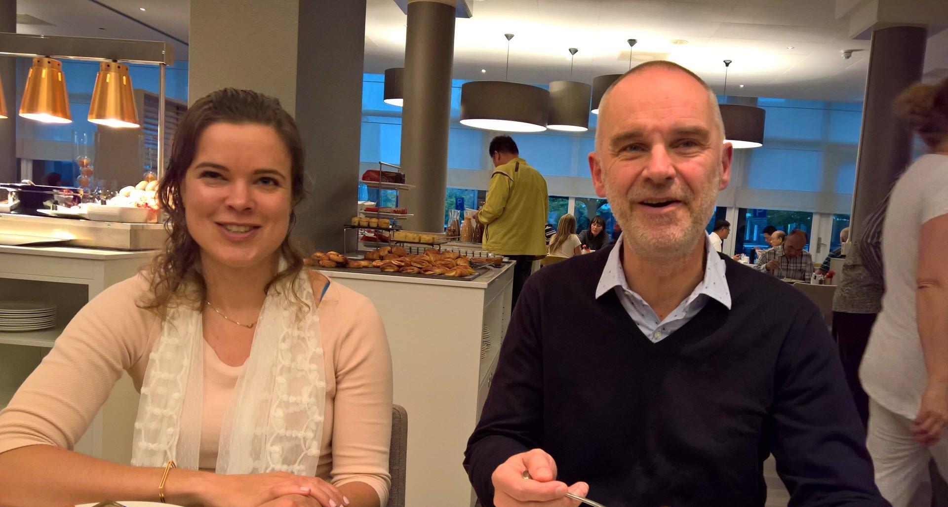 Tessa Backhuijs en Hanno Pijl