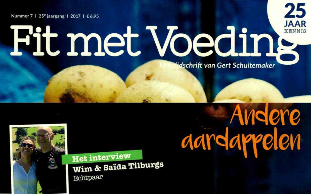 Fit met voeding – Interview Wim en Saida Tilburgs