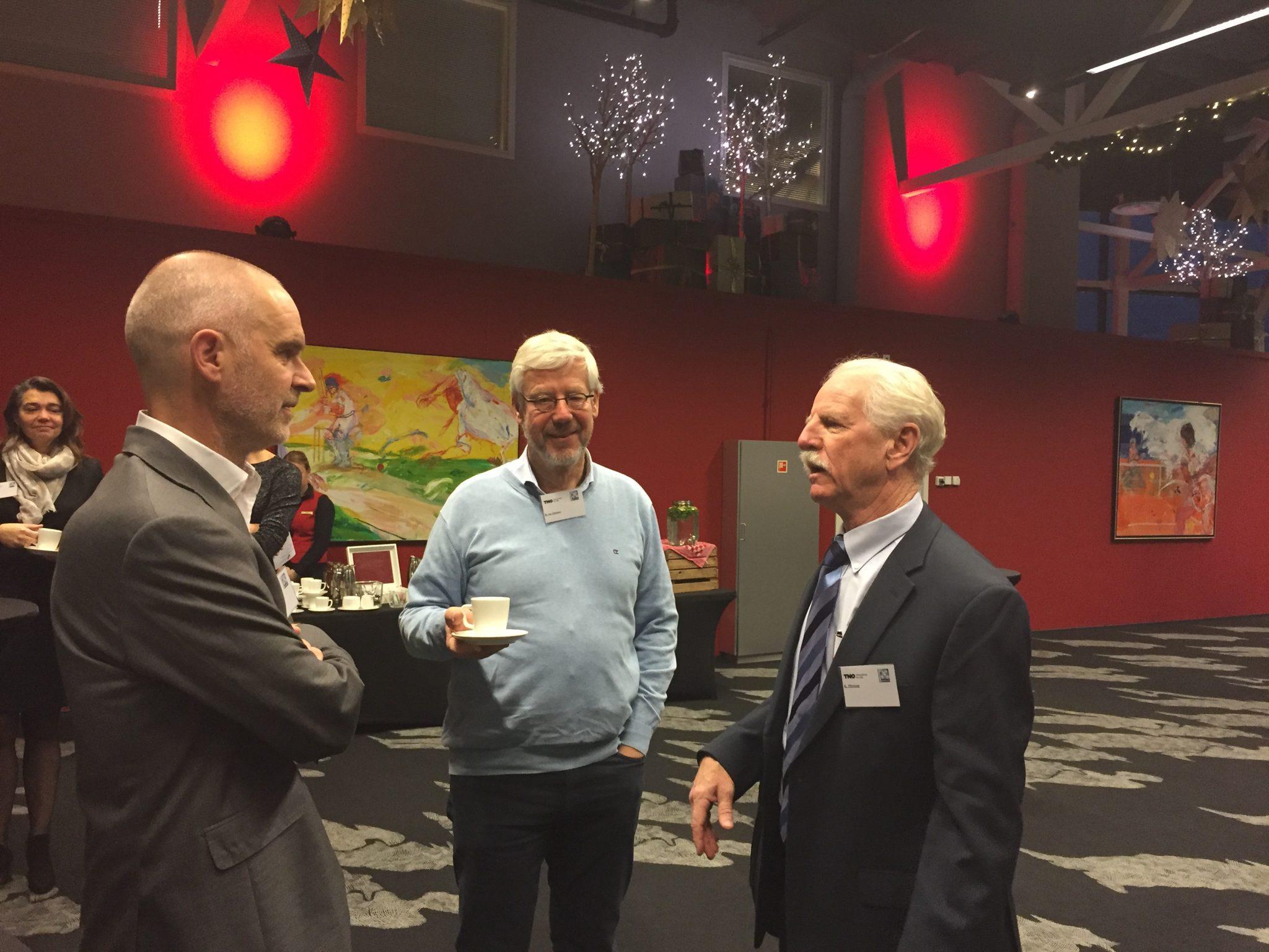 Hanno Pijl Ben van Ommen en Steve Phinney praten over genezen van diabetes type 2