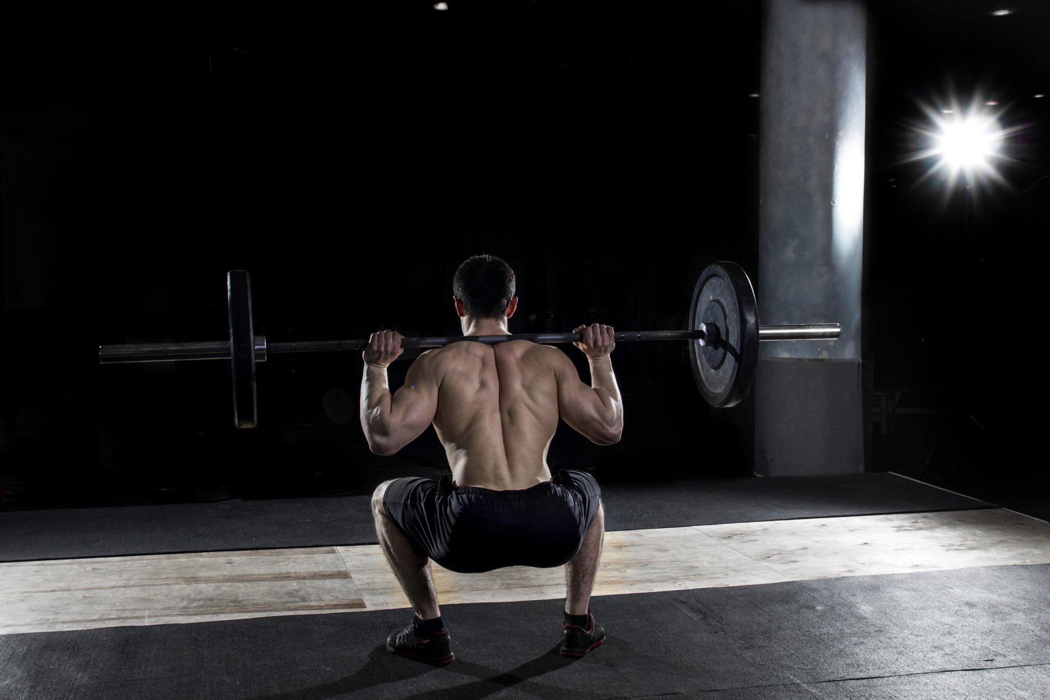 Spierkracht squat