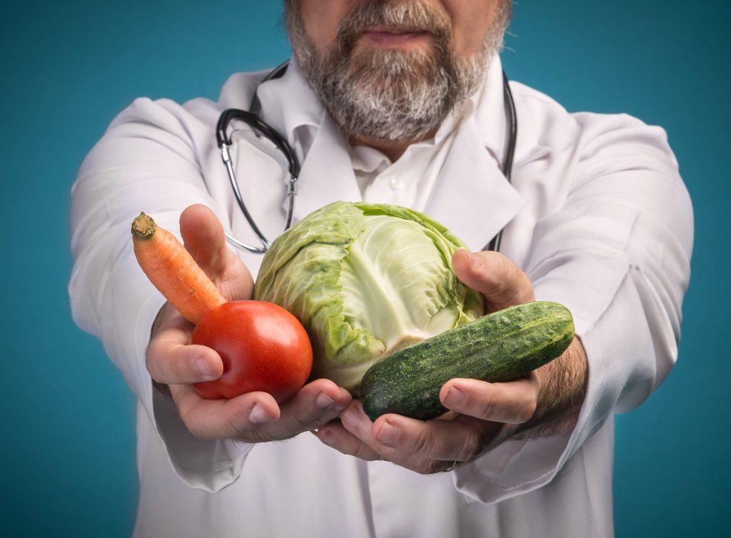 uw arts in de keuken