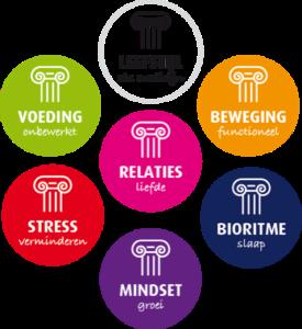 De vijf zuilen van een gezonde leefstijl en mindset