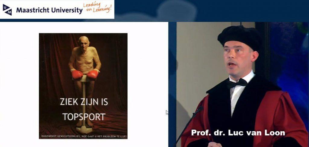 Ziek zijn is topsport Professor Luc van Loon