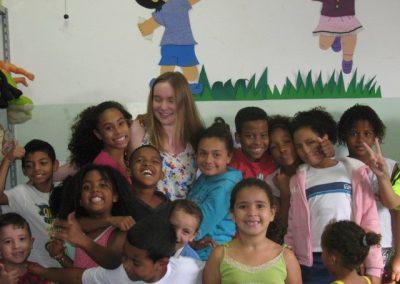 Samen met kinderen van de basisschool
