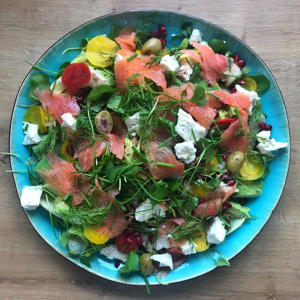 Low carb High Protein Salad