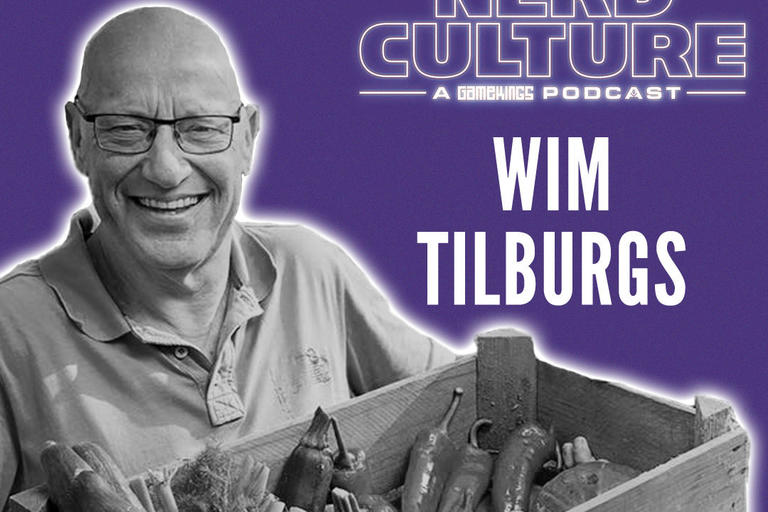 Nerd Culture Wim Tilburgs a gamekings podcast