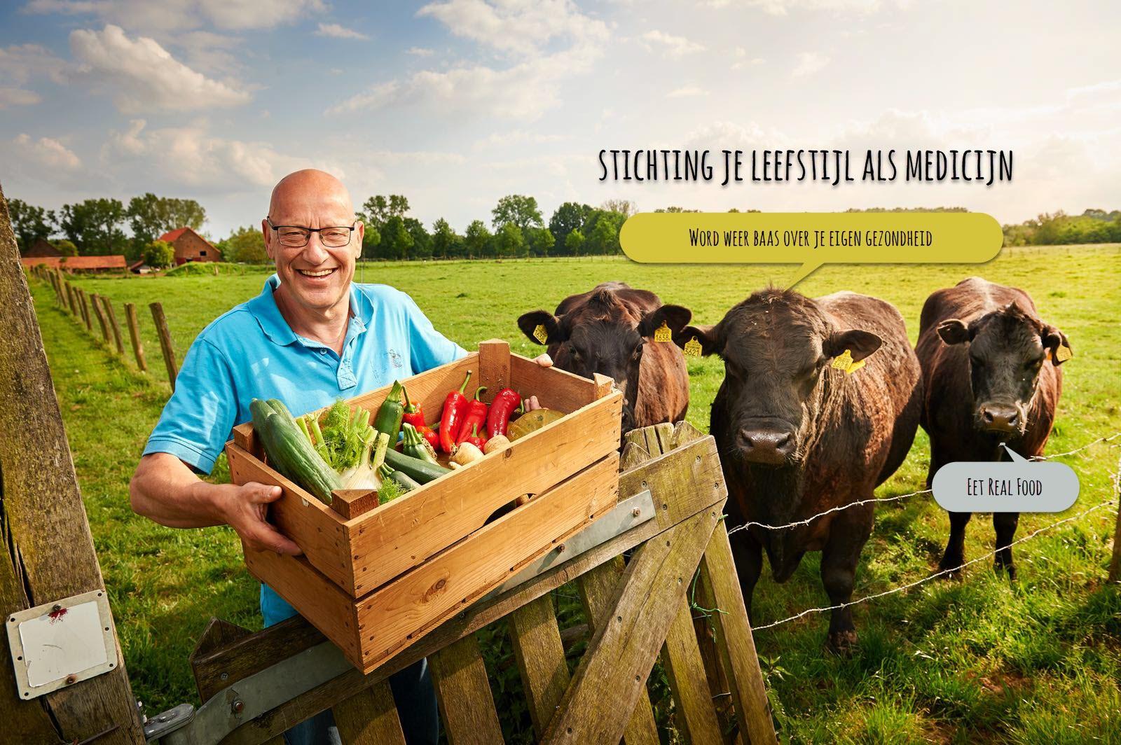 Wim Tilburgs Voorzitter Stichting Je Leefstijl als Medicijn