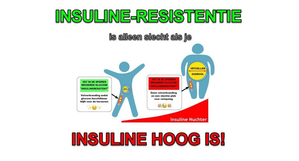 Ketogeen dieet veroorzaakt Insulineresistentie