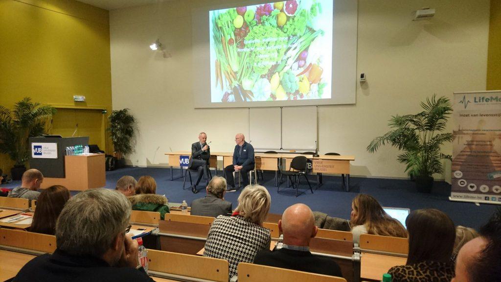 Hanno Pijl en Wim Tilburgs geven lezing LifeMe congres Vrije Universiteit Brussel