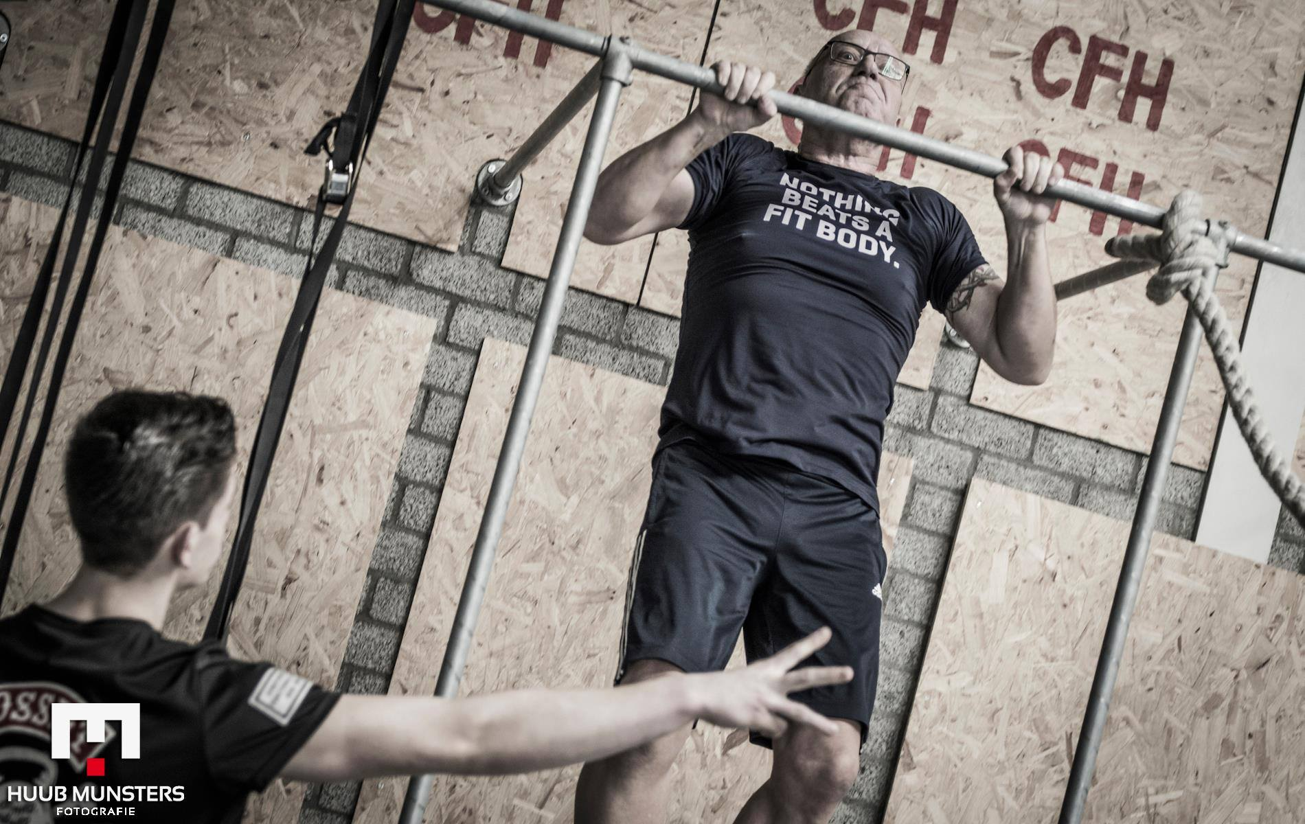 Wim Tilburgs pull up CrossFit Open