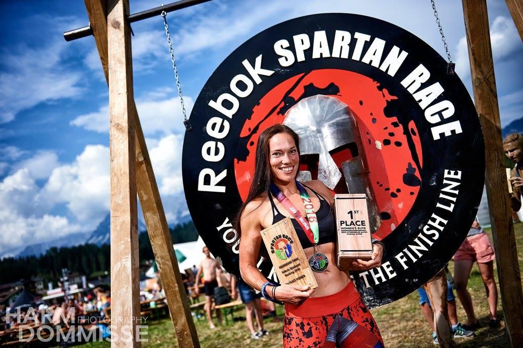 Chantal Verwest Spartan Race Leefstijl als medicijn