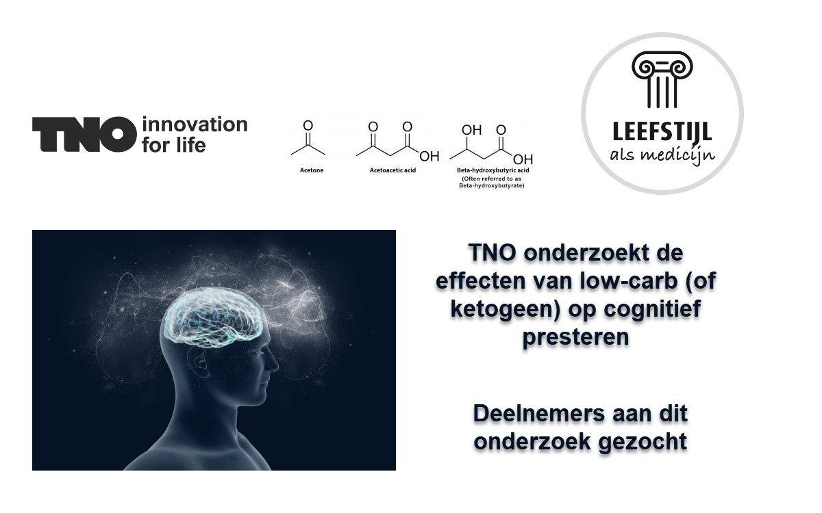 TNO onderzoekt de effecten van het ketogeen dieet op cognitief functioneren