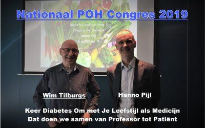 Stichting Je Leefstijl Als Medicijn op het Nationaal POH Congres 2019