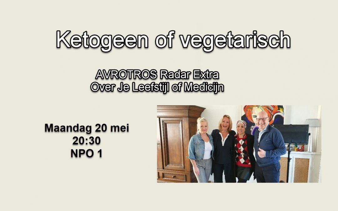 AVROTROS Radar Extra Ketogeen of vegetarisch?