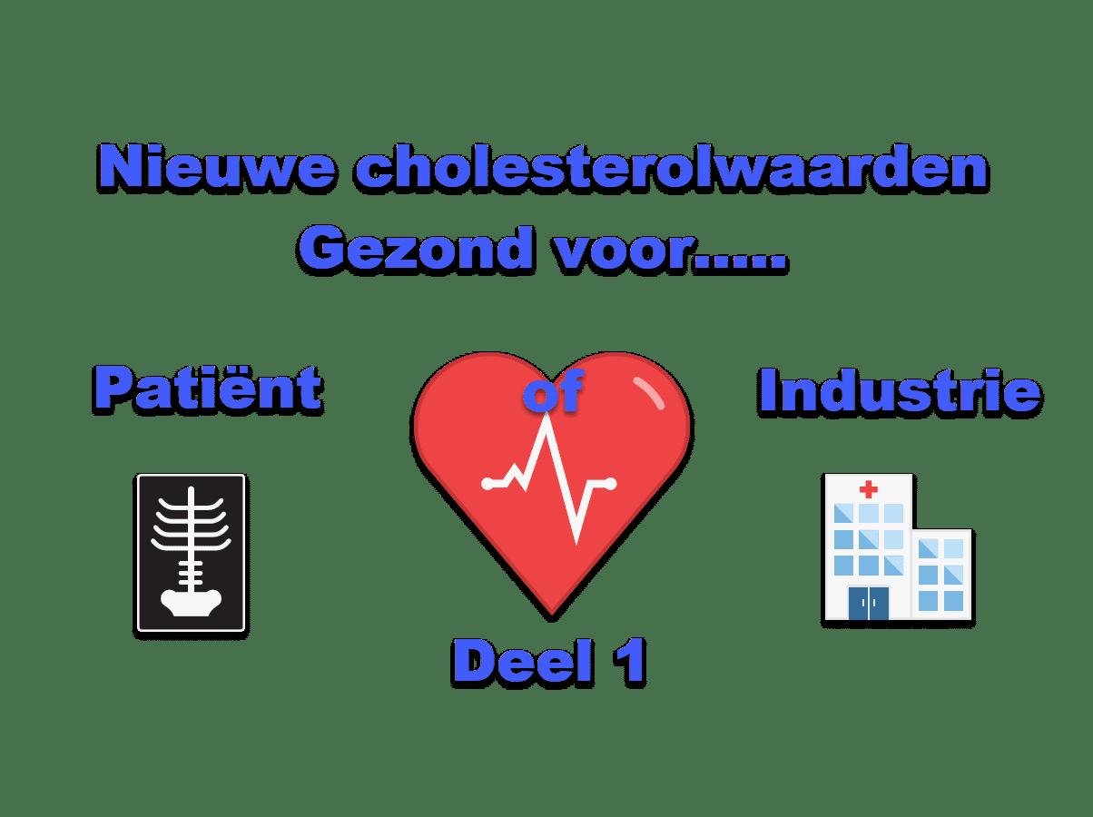 Nieuwe Cholesterolwaarden gezond voor patiënt of industrie 1