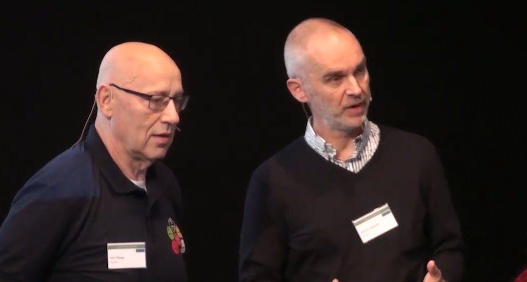 Hanno Pijl en Wim Tilburgs