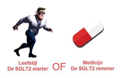 Leefstijl de SGLT2 starter of Medicijn de SGLT2 remmer?