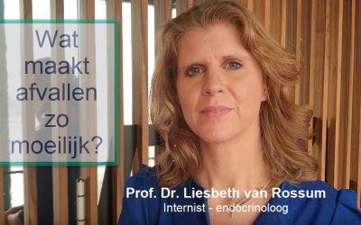 Professor Liesbeth van Rossum – wat maakt afvallen zo moeilijk