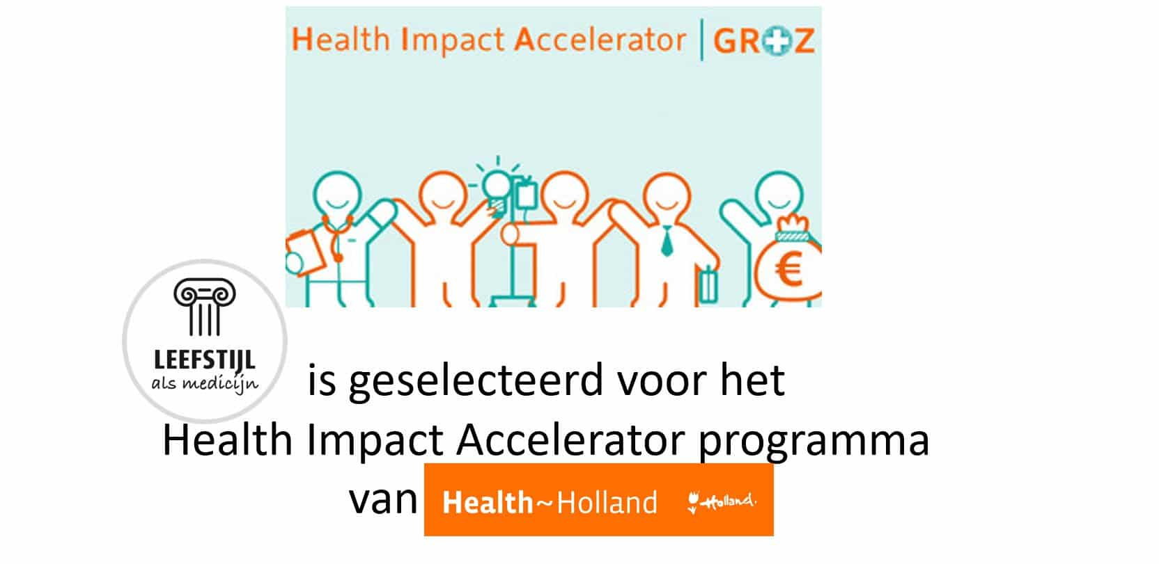 Stichting JLAM is geselecteerd voor het Health Impact Acceletor programma van Health Holland