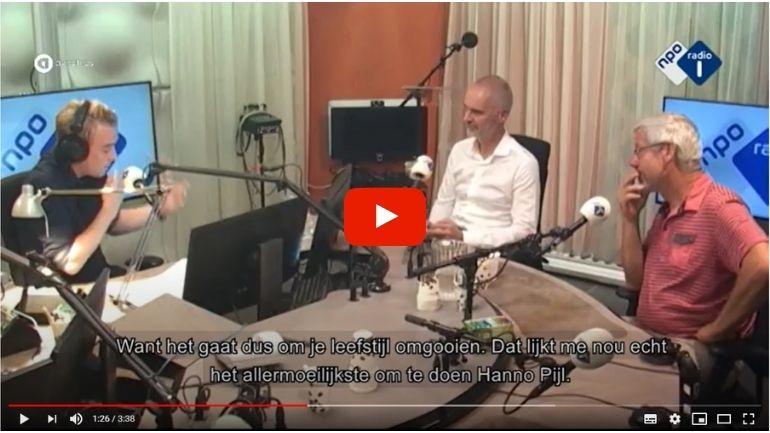 Radio eenvandaag Hanno Pijl en Ben van Ommen Leefstijl Als Medicijn