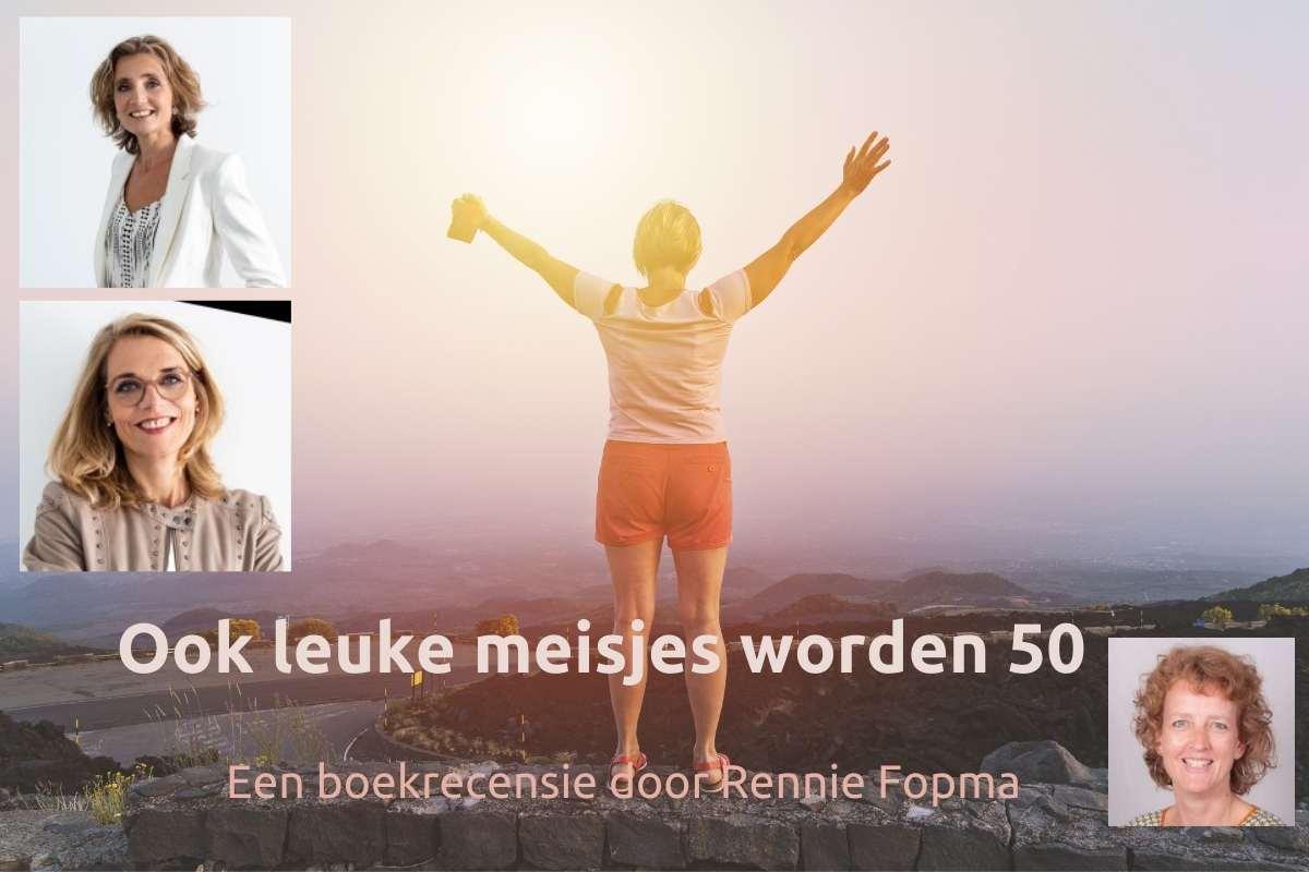 Ook leuke meisjes worden 50 Maaike de Vries en Manon Kerkhof