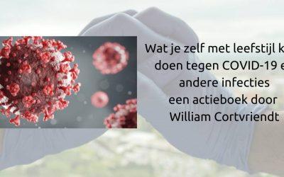 COVID-19 wat kan je met leefstijl doen een e-book door William Cortvriendt
