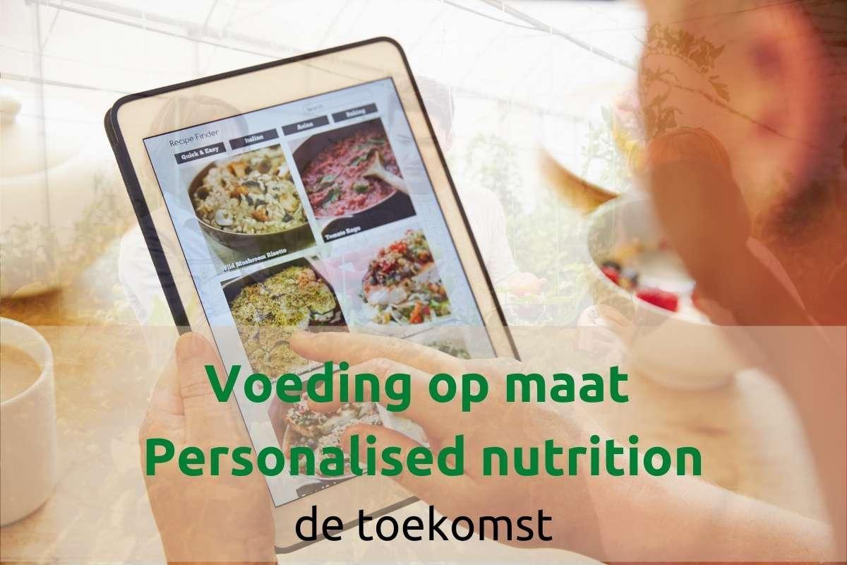 voeding op maat personalised nutrition