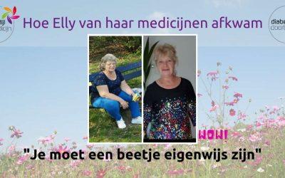 Hoe Elly van haar medicijnen af kwam