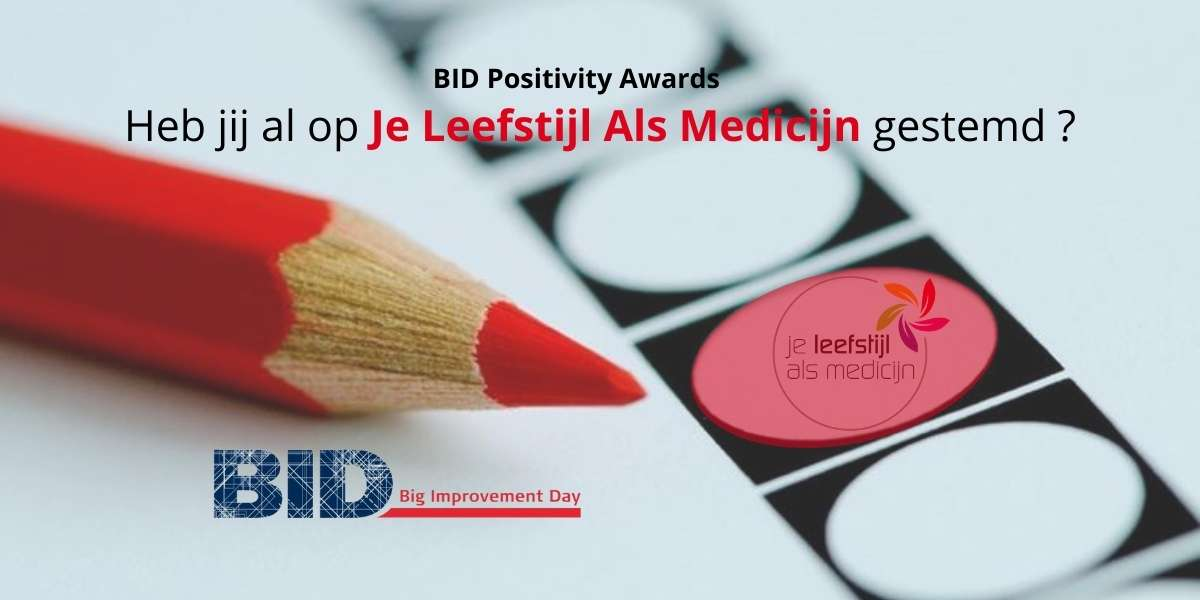 BID Positivity Awards Je Leefstijl Als Medicijn