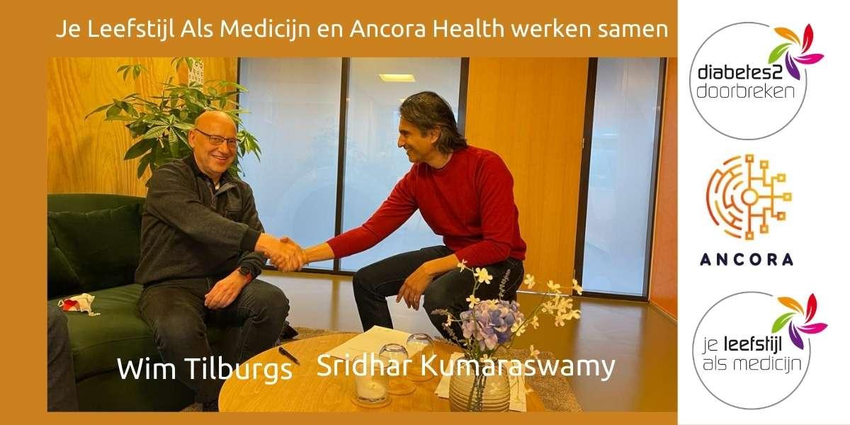 Je Leefstijl Als Medicijn en Ancora Health werken samen