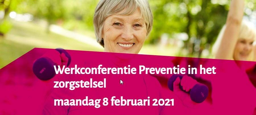 Werkconferentie Preventie in het zorgstelsel