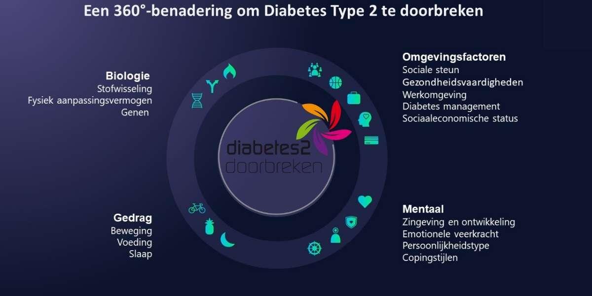 leefstijlgeneeskunde een holistisch 360 graden benadering om diabetes type 2 te doorbreken