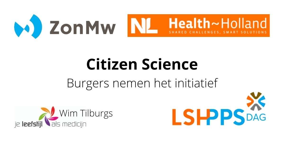 Citizen Science burgers nemen het initiatief