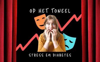 Diabetes en stress – Amber Heijneman op het toneel