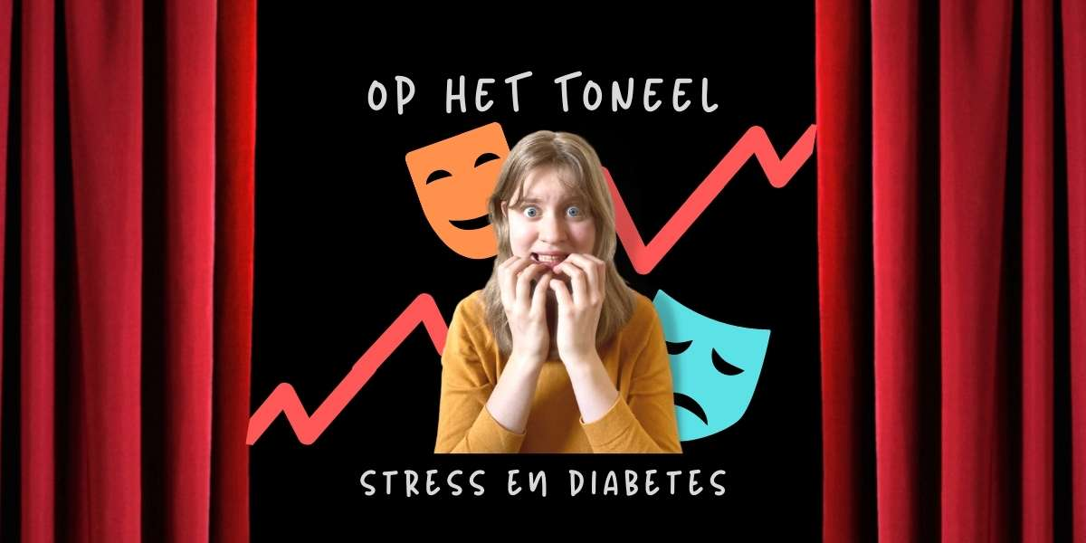 Diabetes en stress - Amber Heijneman op het toneel