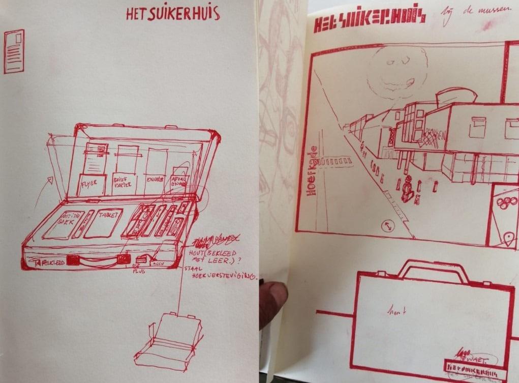Suikerhuis design plan