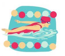 Zwem-Icoontje